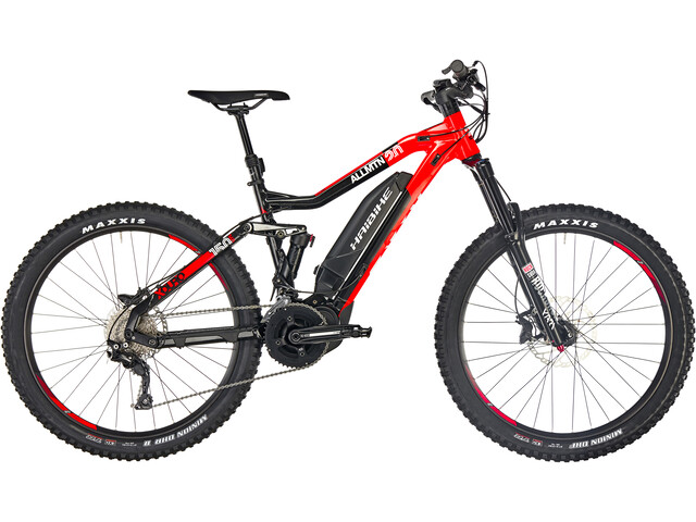 HAIBIKE XDURO AllMtn 2.0 E-MTB Full Suspension red/black